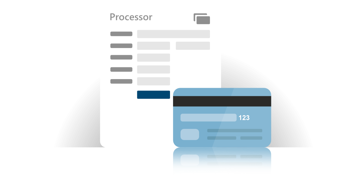 Card Processing within our pool service software.
